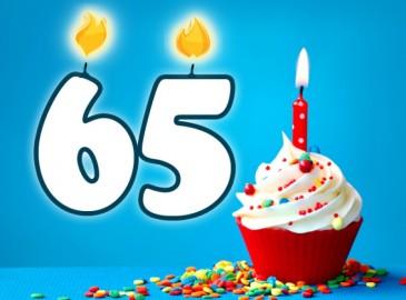 Vaak Verjaardag 65 jaar | Personaliseer uw cadeau gratis! AL52