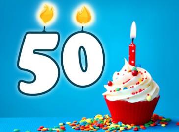 Uitzonderlijk 50 jaar verjaardag | De origineelste cadeaus voor de abraham of sarah! #ET25